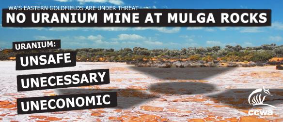 Mulga Rock uranium proposal is in the scoping phase. Energy Minerals Australia.
