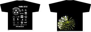 t-shirt image black