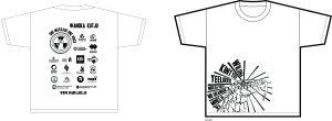 t-shirt image white